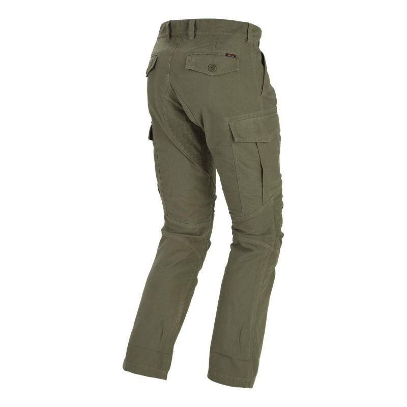 Pantalon textile Spidi TORPEDO vert - 1