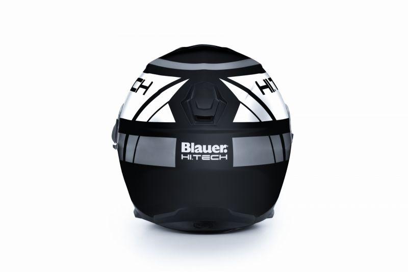 Casque Blauer Force One 800 Noir/Blanc/Gris Mat - 3