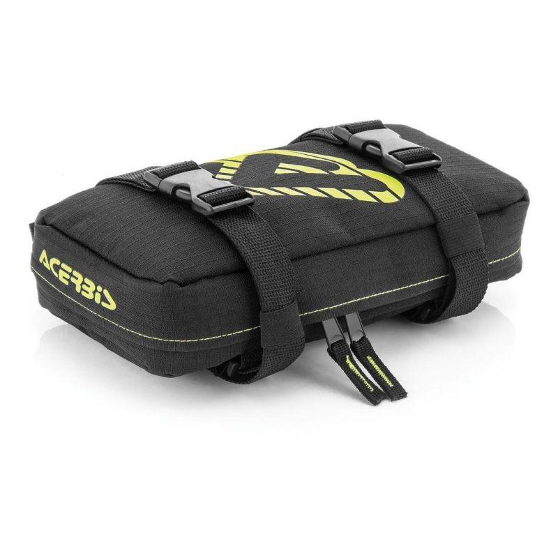 Sacoche garde-boue avant Acerbis Tools Bag noir/jaune