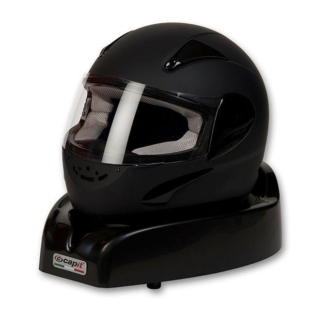 s che casque capit noir visi res et accessoires sur la b canerie. Black Bedroom Furniture Sets. Home Design Ideas
