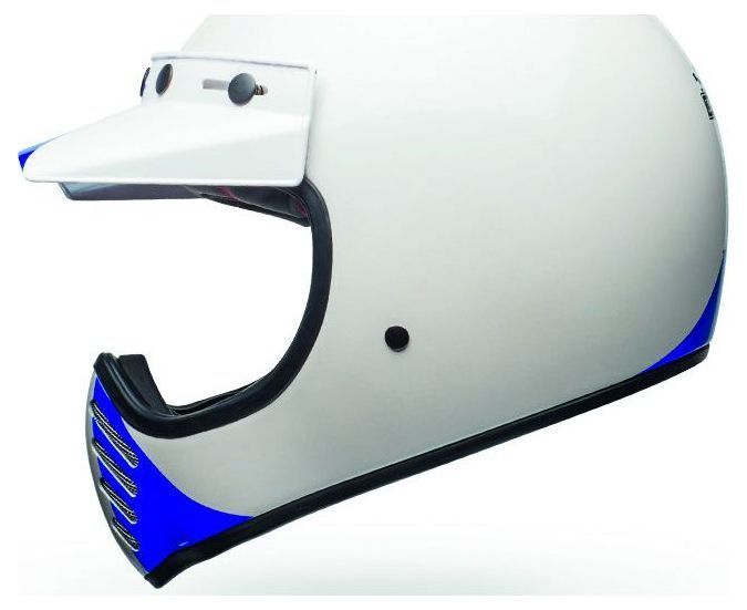 Casque Bell Moto 3 Ace Café GP 66 Gloss blanc/rouge - 6