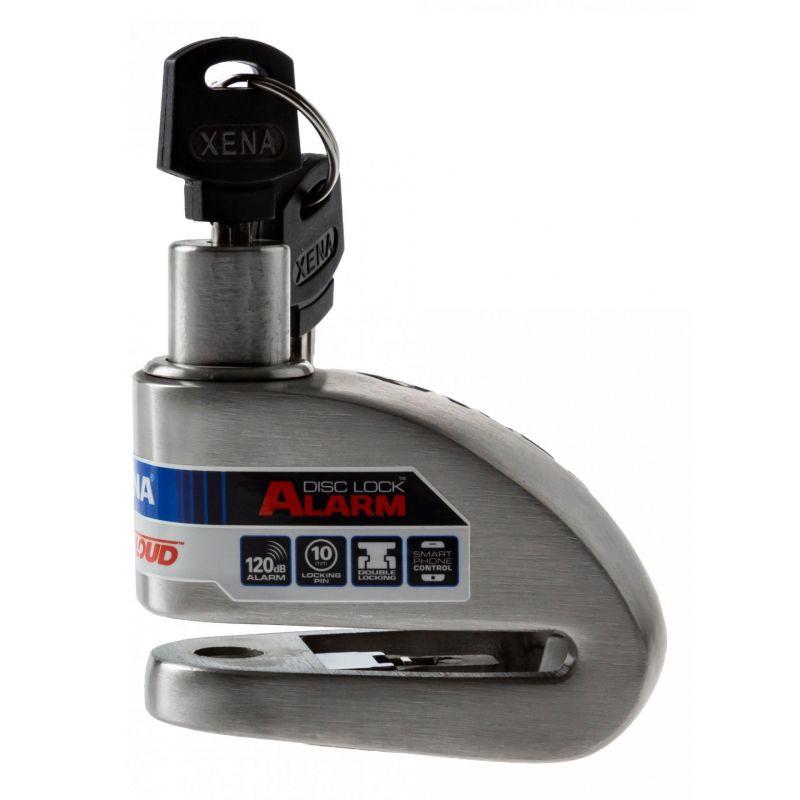 Antivol bloque disque connecté avec alarme Xena XX10 Bluetooth SRA - 1