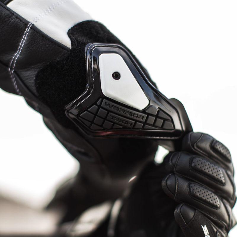 Protections de coudes Spidi WARRIOR ELBOW SLIDER noir/blanc - 1