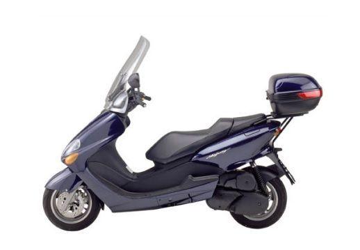 Support top case Givi Yamaha Majesty 125-150-180 01-11 - Pièces ... b33e126edbe3