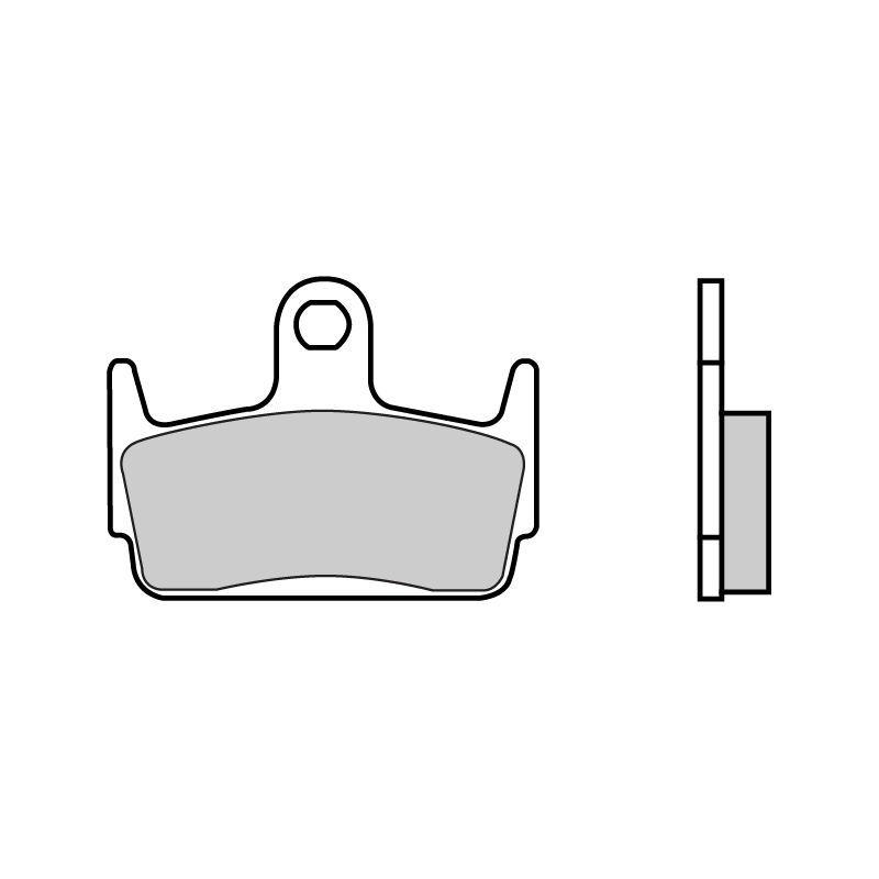plaquettes de frein brembo 07016cc carbone c ramique avant pi ces freinage sur la b canerie. Black Bedroom Furniture Sets. Home Design Ideas