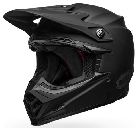Casque cross Bell Moto 9 Mips Intake Matte noir
