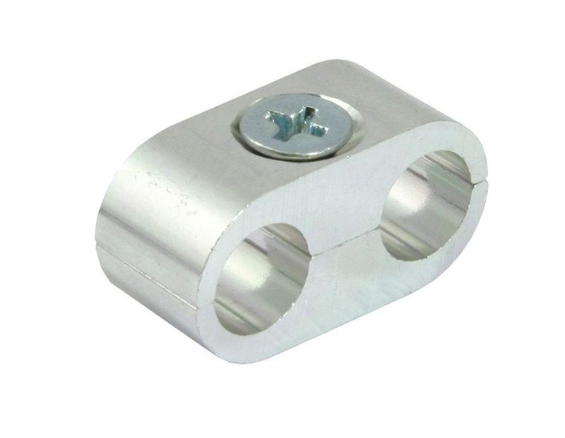 Séparateur de câble double couleur aluminium