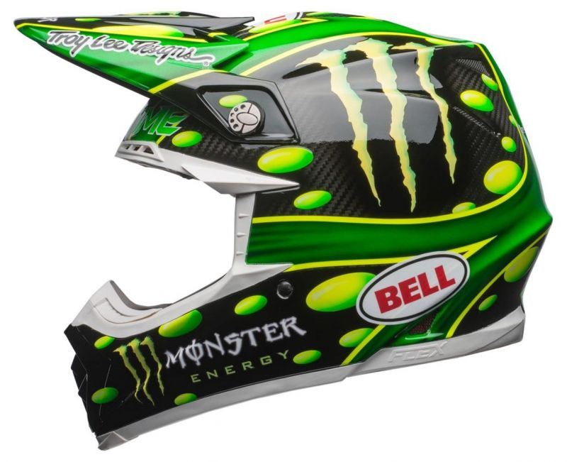 Casque cross Bell Moto 9 Flex MC Grath Monster Replica 18.0 Gloss - 4