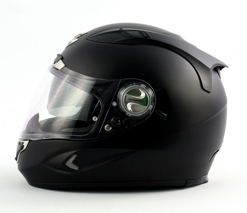 casque moto integral scorpion exo 1000 noir mat. Black Bedroom Furniture Sets. Home Design Ideas