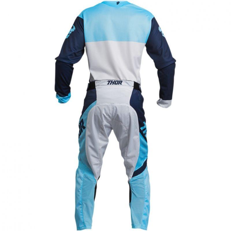 Pantalon cross Thor Pulse Factor navy/powder - 5
