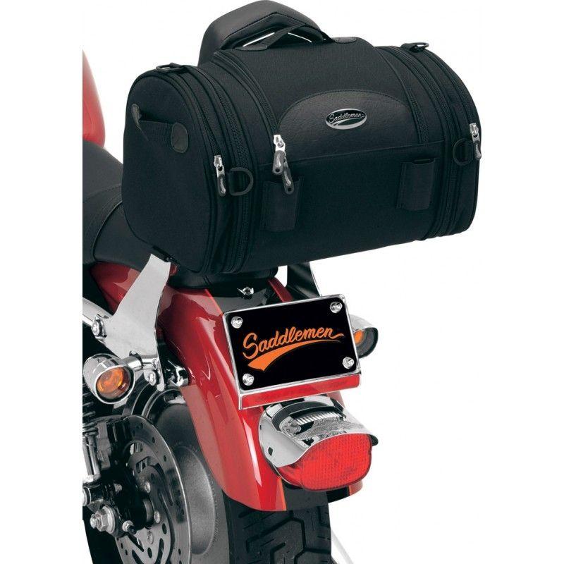 Sacoche de sissy bar Saddlemen R1300LXE Deluxe Roll Bag noire - 2