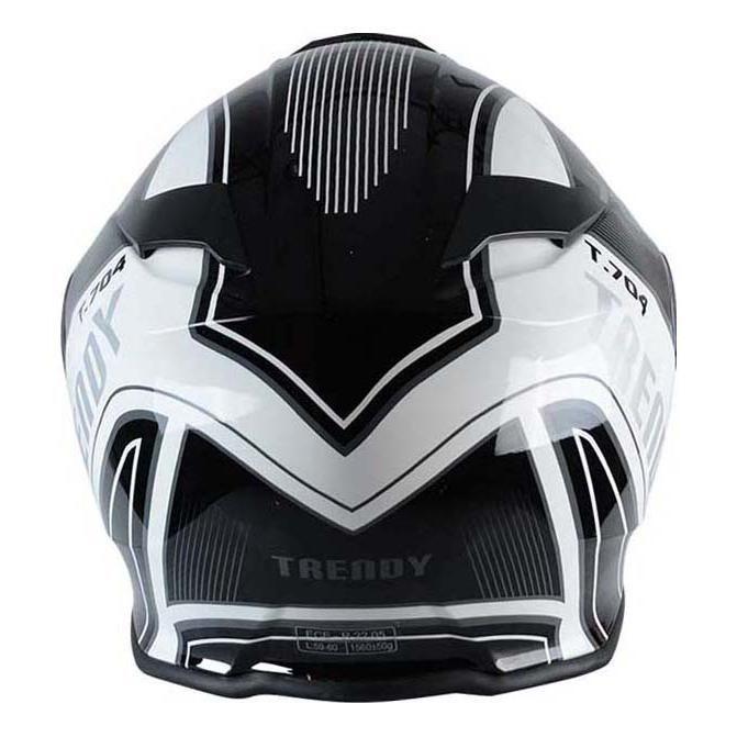 Casque modulable Trendy T-704 Ready blanc / noir verni - 2
