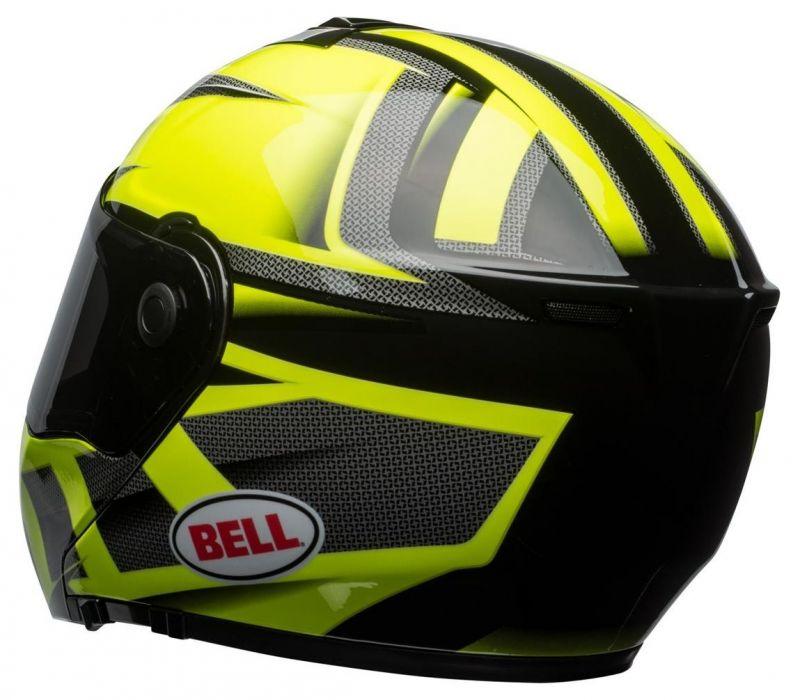 Casque intégral Bell SRT Modular Predator vert/noir - 1
