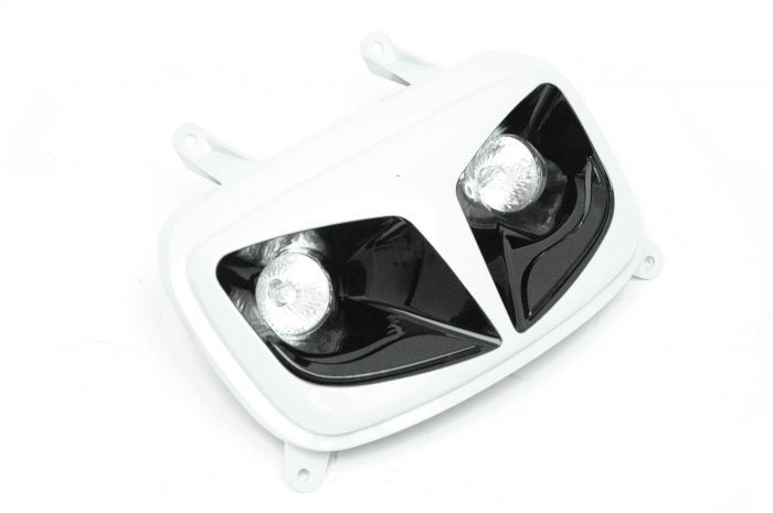 Double optique Style halogène Tun'R Booster 50 Blanc