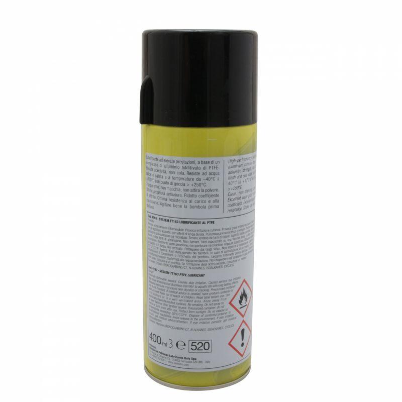 Lubrifiant Arexons haute température PTFE aérosol 400ml - 1