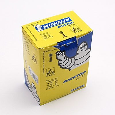 Chambre air 10 39 39 michelin 10cg13 standard droite for Chambre a air mobylette