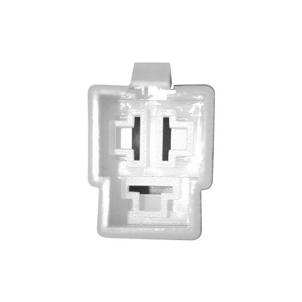 Connectique pour régulateur rectangulaire femelle à languettes -3 cosses mâles moyennes