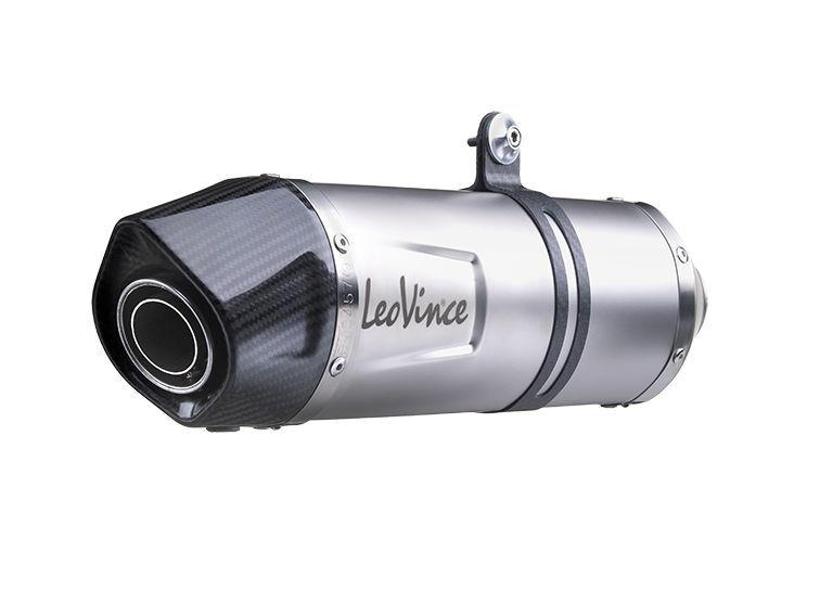 Silencieux Leovince LV One Evo inox casquette carbone pour Suzuki GSF 650 Bandit 07-15 - 3
