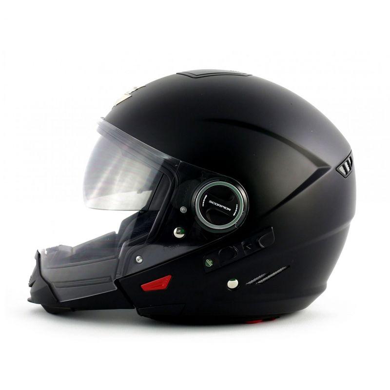 casque transformable scorpion exo 300 air noir mat casques moto sur la b canerie. Black Bedroom Furniture Sets. Home Design Ideas