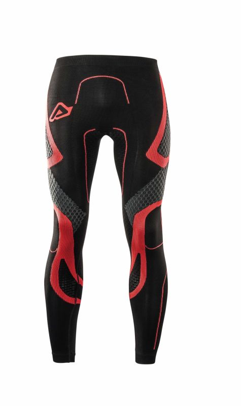 Pantalon de protection Acerbis X-Body Winter Ls noir/rouge - 1