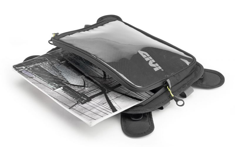 porte carte magn tique givi easy bag pi ces bagagerie sur la b canerie. Black Bedroom Furniture Sets. Home Design Ideas
