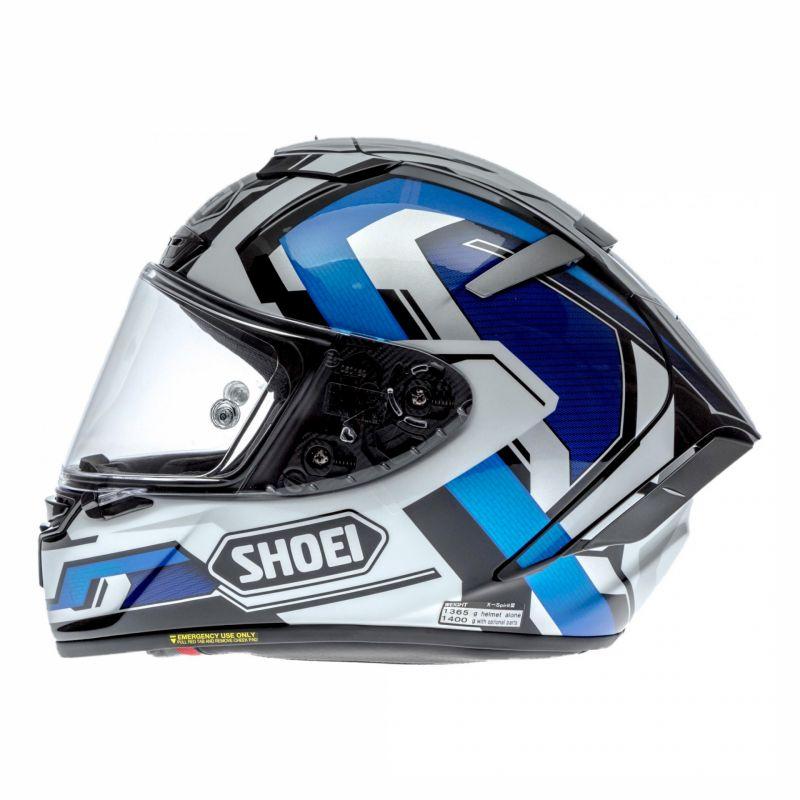 Casque intégral Shoei X-Spirit III Brink bleu/blanc - 1