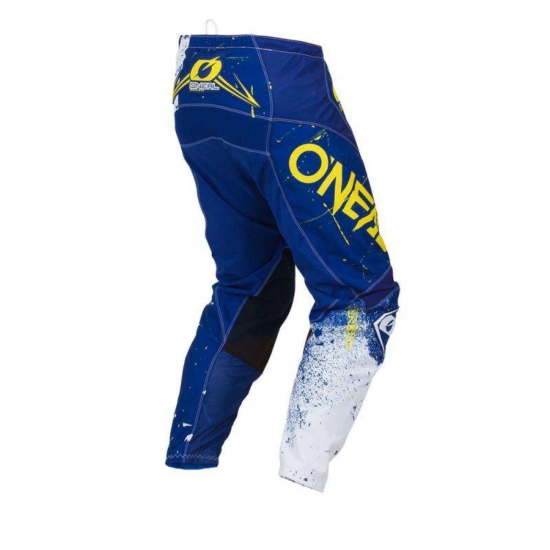 Pantalon cross O'Neal Element Shred bleu - 1