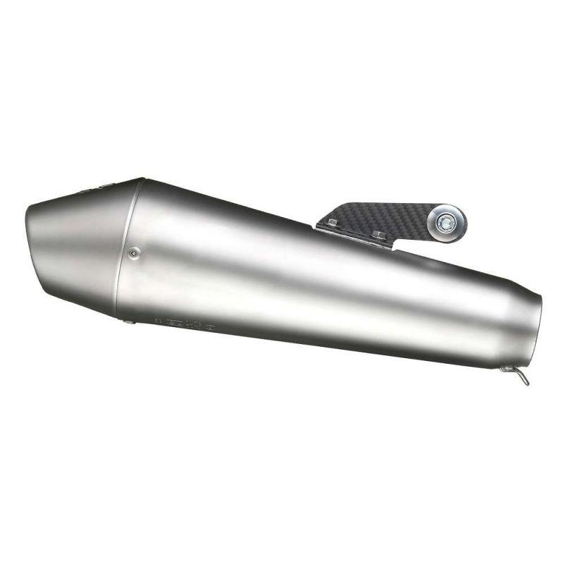 Silencieux universel Leovince GP Style inox Ø 54 mm - 2