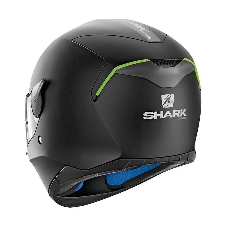 Casque intégral Shark D-SKWAL BLANK Mat noir - 2