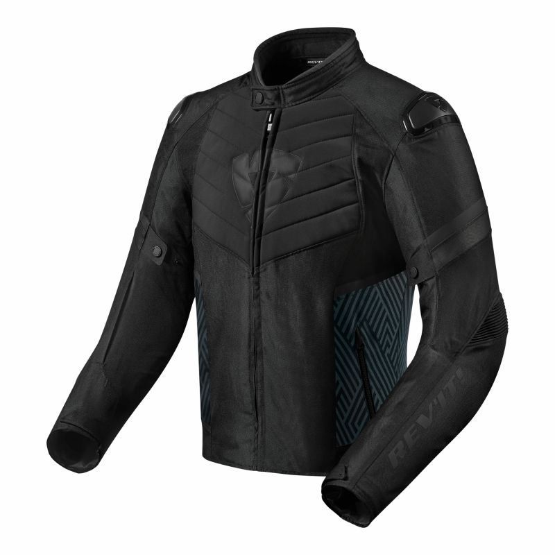 Blouson textile Rev'it Arc H2O noir