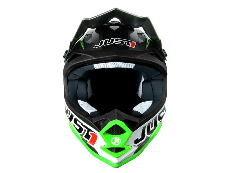 Casque cross Just1 J32 Moto X Vert - 1