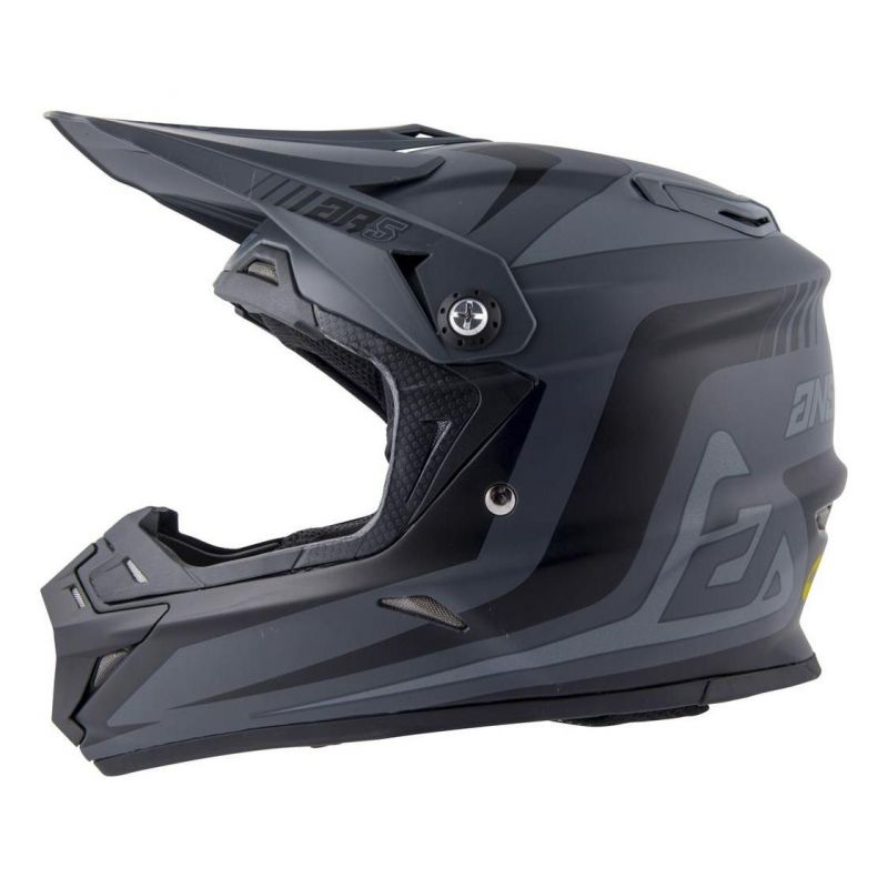 Casque cross Answer AR5 Pulse charcoal/gris - 4