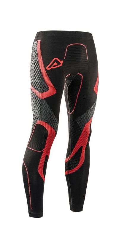 Pantalon de protection Acerbis X-Body Winter Ls noir/rouge