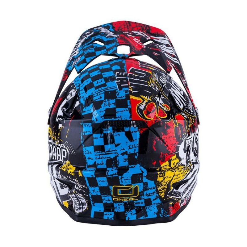 Casque cross enfant O'Neal 3SRS Wild multicolore - 3