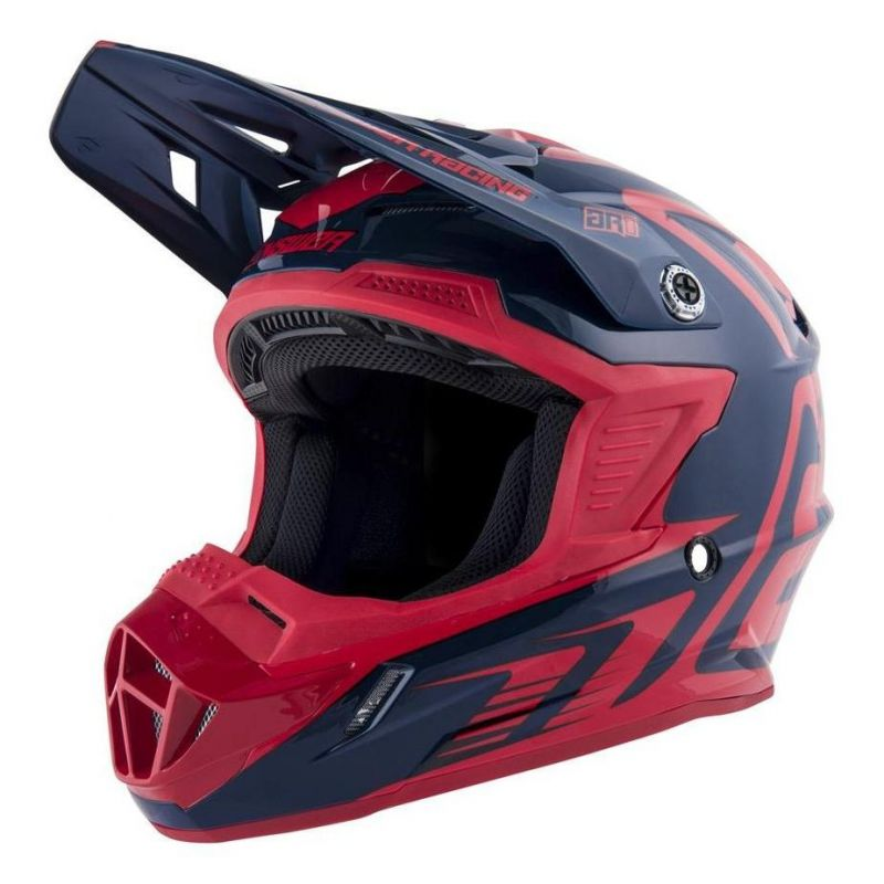 Casque cross Answer AR1 Edge midnight/bright red