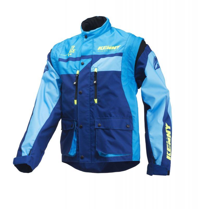Blue Kenny Sur Full Veste La Équipement Bécanerie Enduro Cross Track wIqa5Sa