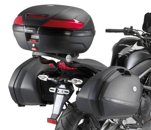 Nero KESOTO Sissy Bar Motociclista Schienale PU Morbida Accessorio Per Moto Bobber Chopper