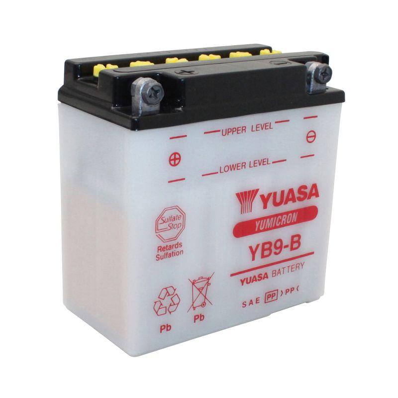 Batterie Yuasa YB9-B 12V 9Ah