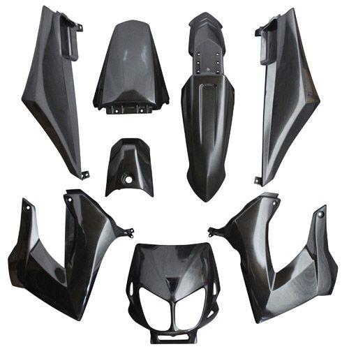 kit carrosserie 8 pi ces noir brillant adaptable senda drd x treme x race pi ces car nage sur. Black Bedroom Furniture Sets. Home Design Ideas