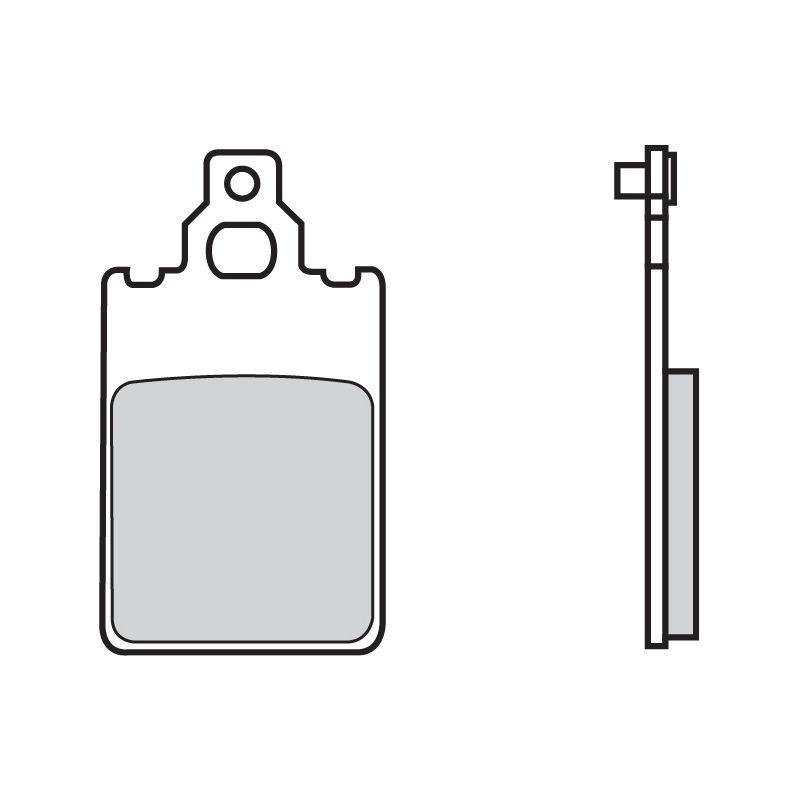 plaquettes de frein brembo 07009cc carbone c ramique avant pi ces freinage sur la b canerie. Black Bedroom Furniture Sets. Home Design Ideas
