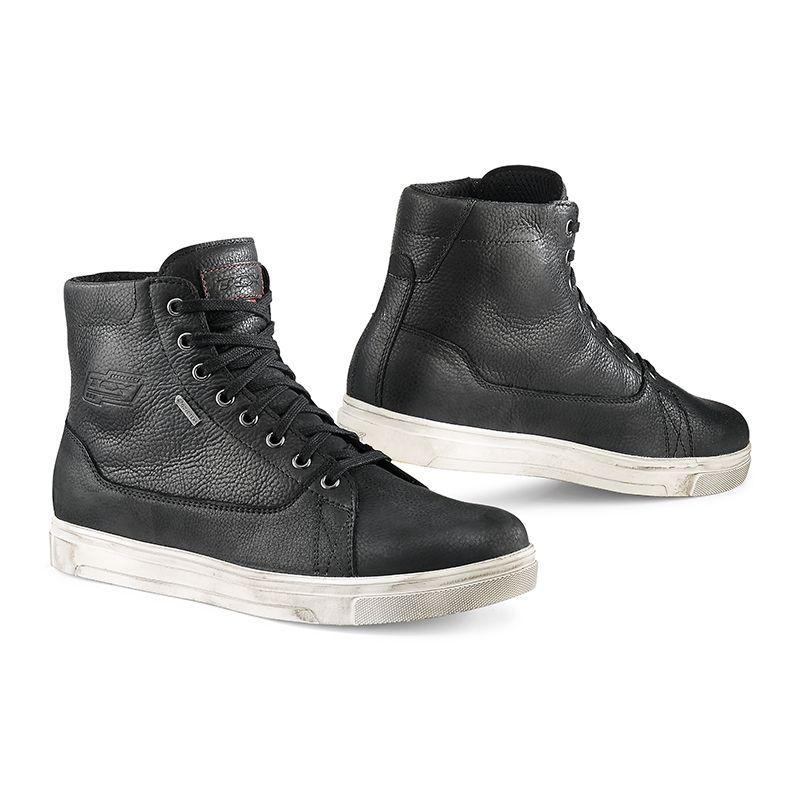 chaussures moto tcx mood gore tex noir quipement route sur la b canerie. Black Bedroom Furniture Sets. Home Design Ideas