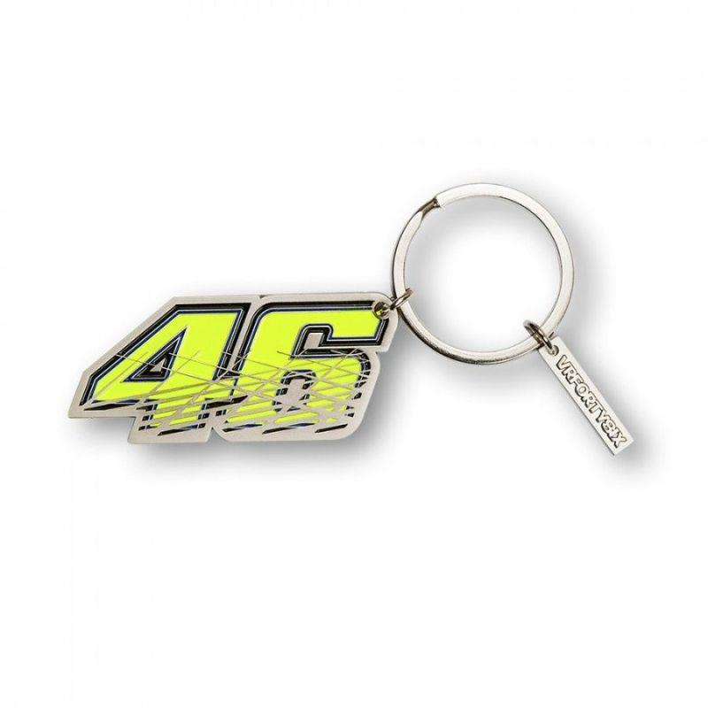 Porte clé VR46 Valentino Rossi 6x3cm 2016