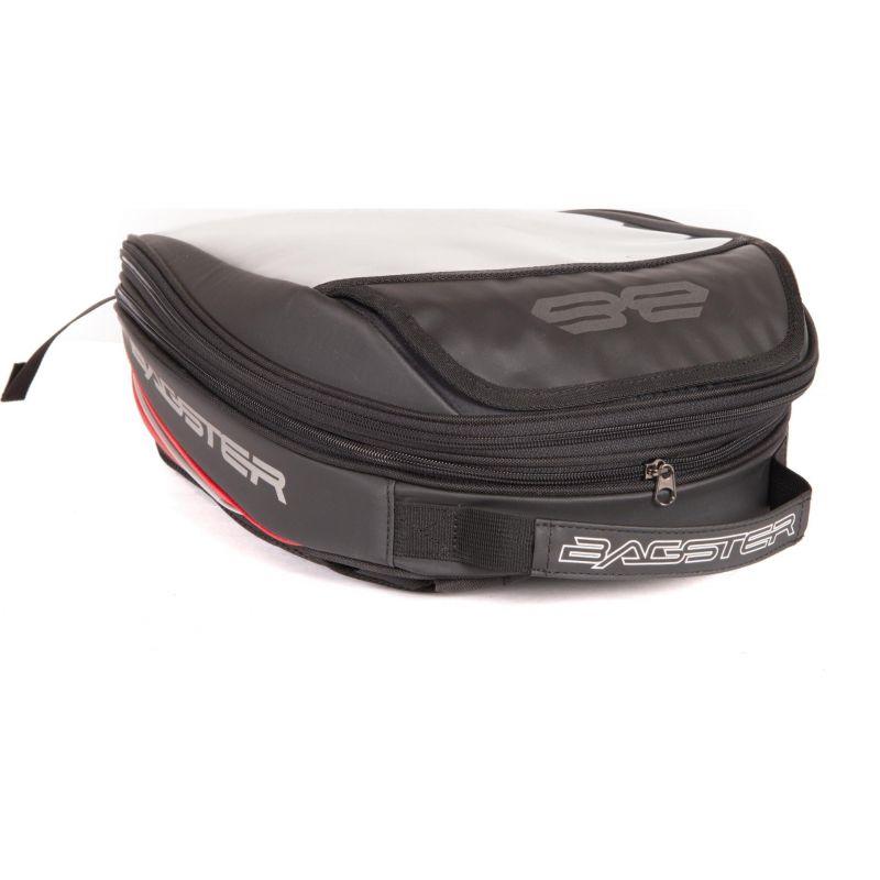 sacoche de r servoir bagster roader evo noir rouge pi ces bagagerie sur la b canerie. Black Bedroom Furniture Sets. Home Design Ideas