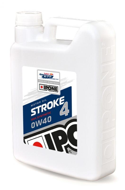 Huile moteur Ipone STROKE 4 0W40 – bidon de 4 Litres