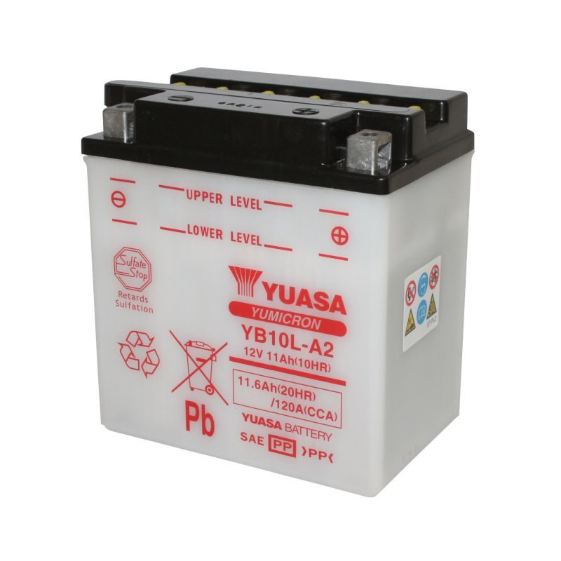 Batterie Yuasa YB10L-A2 12V 11Ah