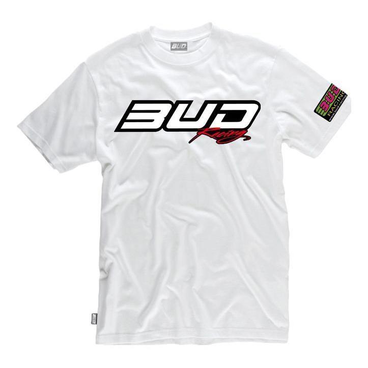 Tee-shirt Bud Racing Logo blanc