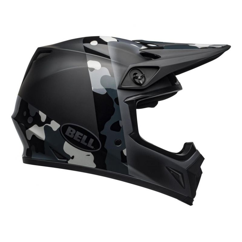 Casque cross Bell MX 9 Mips Presence Camo titanium/noir - 3