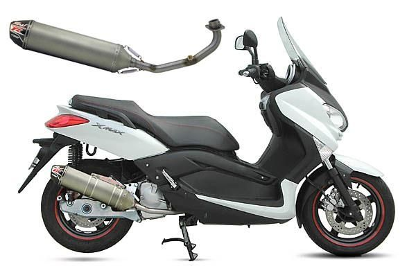 Échappement CRD titane Yamaha MBK Xmax 125