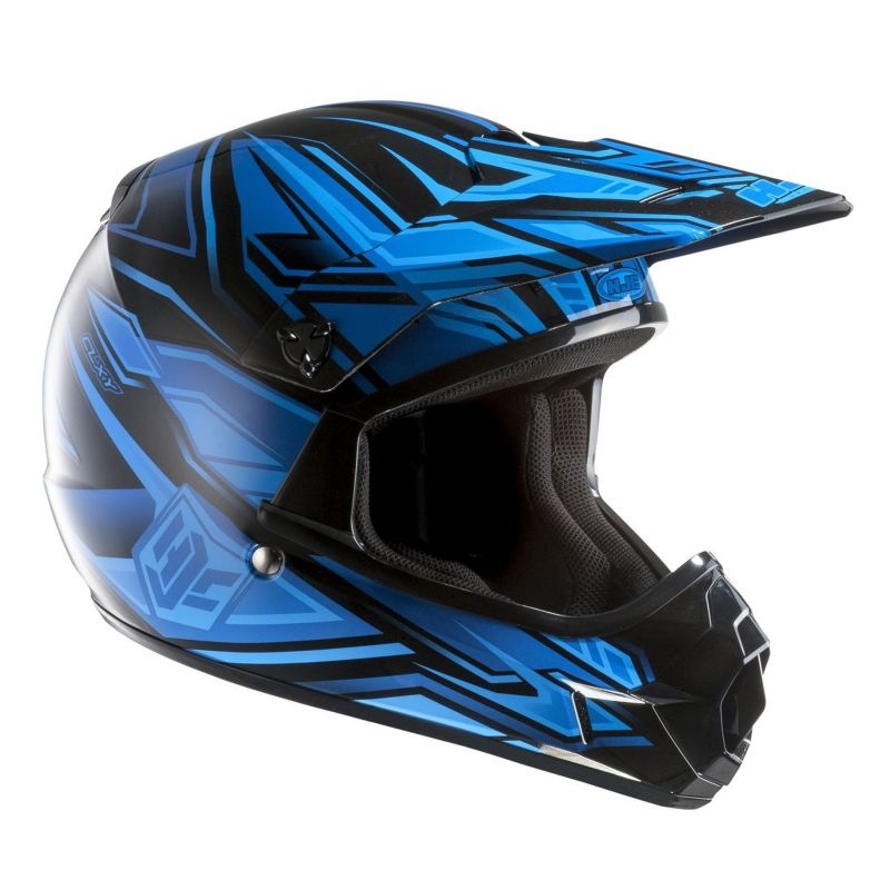 Casque cross HJC CL-XY FULCRUM MC2 Bleu/Noir