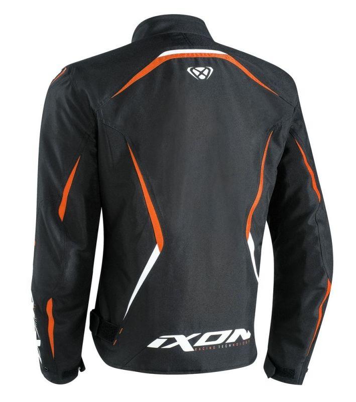 Blouson textile Ixon SPRINTER noir/orange - 1
